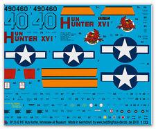 Peddinghaus 2142 1/32 P 47 Hun Hunter XVI, Museumsmaschine Tennessee Air Musée