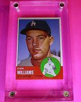 1963 TOPPS Baseball #42 Stan Williams Los Angeles Dodgers NmMt  SHARP!