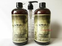 Wen Chaz Dean Sweet Almond Cleansing Conditioner 16 oz Pack of 2 + Pump