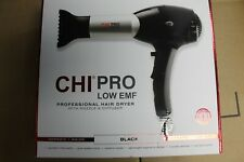 CHi Pro Low Emf Hair Dryer - Color: Black - Brand new