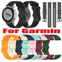 Fashion Silicone Replacement Watch Band Wrist Strap for Garmin Vivoactive 4s