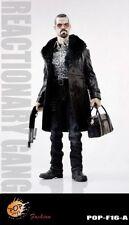 Pop Toys Mafia Style 1/6 Scale Figure En Cuir Accessoire Robe en Noir * NEUF *