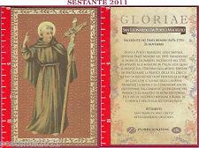 C153 SANTINO HOLY CARD S. LEONARDO DA PORTO MAURIIZIO FRATI MINORI 26 NOVEMBRE