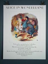 Alice in Wonderland Ltd. Edt. Poster 1990 Alice & Dodo