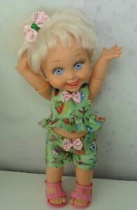 GALOOB BABYFACE DOLL: HAND MADE SUN SUIT OUTFIT (NO DOLL) UK SELLER.