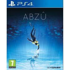 Abzu PlayStation Ps4 Underwater Adventure