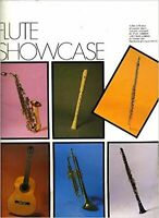 Flute showcase: A fine collection of popular music specially arranged for