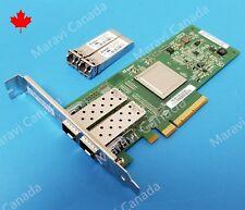 QLOGIC QLE2562 Dual Port 8Gb Fibre Adapter FC HBA PX2810403 w/ SFP+ Transceivers