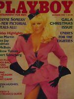 Playboy December 1984 Gala Christmas Issue | Suzanne Somers Karen Velez   #8309