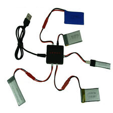 3.7V 5 in 1 Lipo Battery USB Charger Adapter for Syma X5 X5C X5C-1 RC Drone HOT
