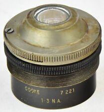 Microscopio Cooke 1.3 n.a. Lente Rosca 32 mm
