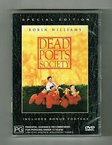 Dead Poets Society DVD R4 BRAND NEW/SEALED