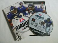 Madden NFL 2005 (Playstation 2 PS2) Complete CIB with Manual