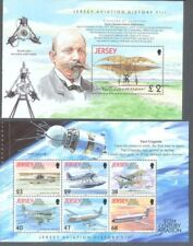 Jersey-Aviation m/sheet  & set mnh excellent price-Space-Gagarin-Early Flights