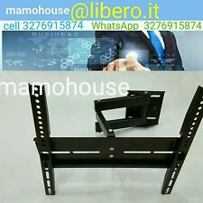 """SUPPORTO STAFFA TV BRACCIO TV TELEVISORE LCD PLASMA LED DA 23"""" - 50"""" HP-520B"""