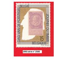 Année 1993, Centenaire du timbre à 2 F effigie royal, Léopold II N° 2500