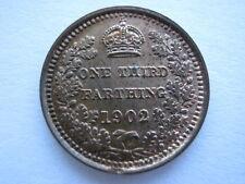 1902 Third Farthing, A UNC. ACS