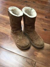 UGGS Australia Upper Leather And Sheepskin Ladies Boots Size UK-3