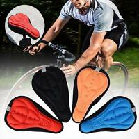 Thick Gel Thick Soft Bicycle Bike Cycling Saddle Seat Cover Cushion Pad Mat GA