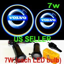 2X 7w Cree LED Ghost Lights Bulb Laser Welcome Door Courtesy Step for VOLVO
