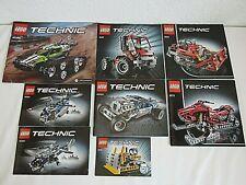 Lego Technic Verschiedene Bauanleitungen