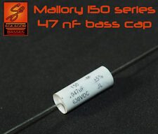47 nF MALLORY 150 SERIES CAP FOR  BASS CAPACITOR UPGRADE