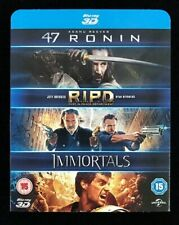47 Ronin 3D + RIPD 3D + Immortals 3D Blu-ray [Region A,B] 3-Movie Collection