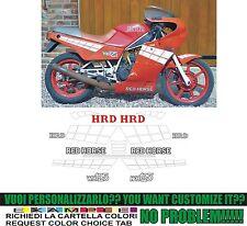 kit adesivi stickers compatibili  red horse