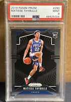 2019-20 Matisse Thybulle Panini Prizm Base Rookie #290 PSA 9 Mint 76ers RC