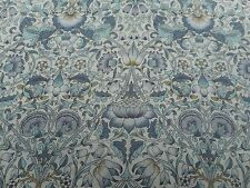 Liberty of London Tana Lawn Fabric 'LODDEN H' 2 METRES 200cm x 136cm Grey/Blue