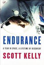 SCOTT KELLY SIGNED BOOK ENDURANCE - UACC & AFTAL AUTOGRAPH - NASA SPACE SHUTTLE