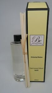 BE ENLIGHTENED~DIFFUSER REFILL 200MLTRIPLE SCENTED ~ORIENTAL BAIES