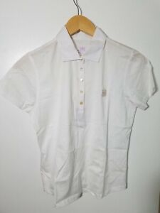 1 NWT PETER MILLAR WOMEN'S POLO, SIZE: X-SMALL, COLOR: WHITE (J92)