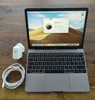 Apple Macbook Retina Space Gray 256 Gb 12'' Laptop - (2017)