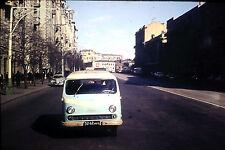 Oldtimer Bus RAF 977 DM Latvia Russland Russia 60er Jahre in Moskau Dia rare