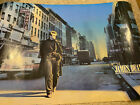 """RARE James Dean, Walking down w. 52nd St., NYC, Photo Poster 24"""" X 36"""" 1988"""