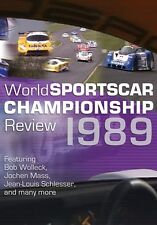 World Sportscar Championship Review 1989 (New DVD) Baldi Schlesser Mass Wollek