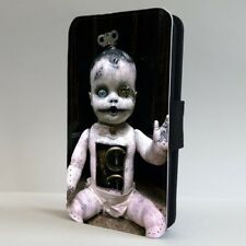 Creepy Baby Doll Horror FLIP PHONE CASE COVER for IPHONE SAMSUNG