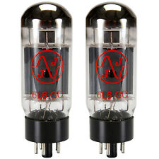 New 2x JJ 6L6GC / 6L6 | Matched Pair / Duet / Two Tubes | Free Ship