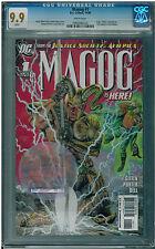 Justice Society America: Magog #1 Keith Giffen Howard Porter (2009) DC CGC 9.9