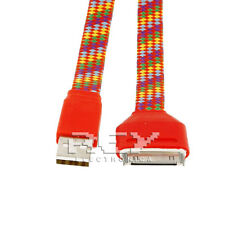 Cable USB a DOCK Cargador y Datos iPod,iPhone y iPad Color Rojo Multicolor v300
