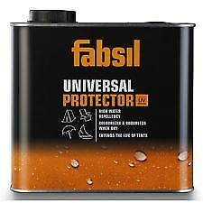 Grangers Fabsil 2.5L UV Waterproofer Sealant Waterproofing Tent Awning Canvas