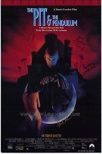 PIT AND THE PENDULUM Movie POSTER 27x40 Lance Henriksen Stephen Lee William J.