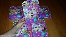 Shopkins Gold Kooky Cookie Season 5 SwapKins Party Exclusive 12 Pack