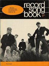 Animals Kinks Byrds Neil Diamond P.J. Proby Julie Felix Record Song book