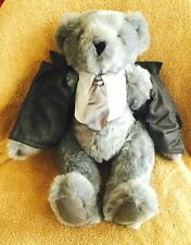 "VERMONT TEDDY BEAR COMPANY 50 SHADES OF GREY 15"" TEDDY BEAR - RETAIL $89.99 NEW!"