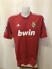 Real Madrid 2011/2012 Third XL Adidas soccer shirt jersey maillot football 3rd
