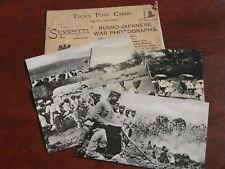 FOUR ORIGINAL TUCK POSTCARDS - RUSSO JAPANESE WAR PHOTOGRAPHS, No. 6534.