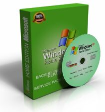 Windows XP Home Edition SP3 32 Bit Repair Recovery Restore Re-Install Boot CD