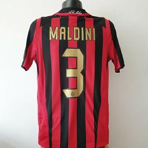 MALDINI 3 AC Milan Shirt - Small - 2005/2006 - Home Jersey Adidas